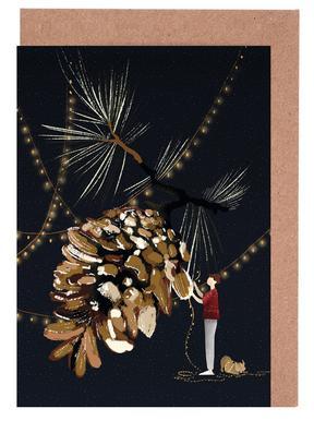 Christmas 1 Set de cartes de vœux