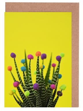 Haworthia in Bloom Greeting Card Set
