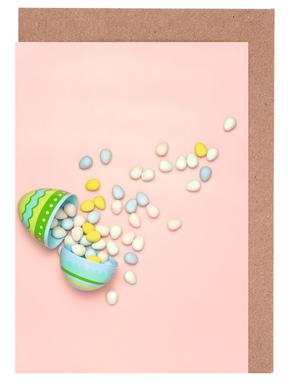 Easter Egg Spill Set de cartes de vœux