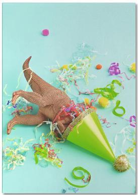Dinosaur Party notitieblok