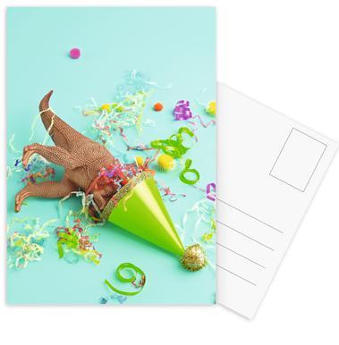 Dinosaur Party Postcard Set