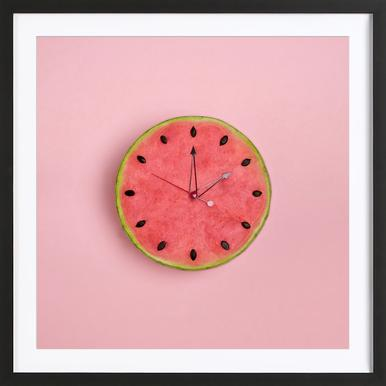 Watermelon Time Framed Print