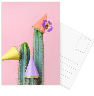 Cactus Party Hats ansichtkaartenset