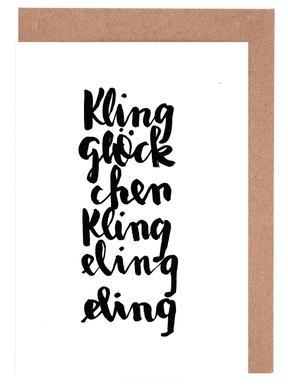 Kling Greeting Card Set