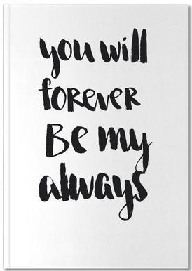 Forever my Always Notitieboekje