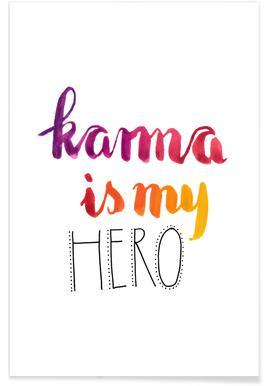 Karma Poster