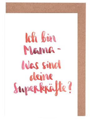 Mama 3 Grußkartenset