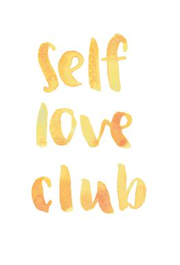 Self Love Club -Acrylglasbild