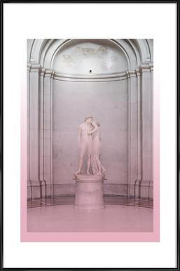 Adamus & Evalus Poster im Kunststoffrahmen