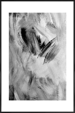 Painting Poster im Kunststoffrahmen