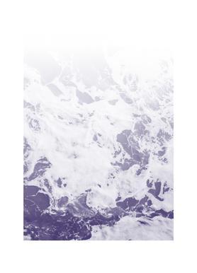Purple Ocean Leinwandbild