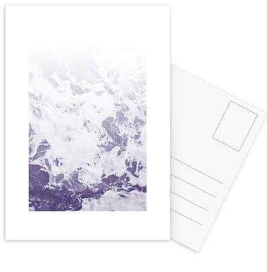 Purple Ocean -Postkartenset