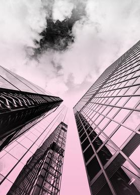Skyscraper -Leinwandbild