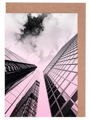 Skyscraper Grußkartenset