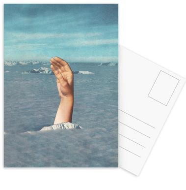 Drowning Postcard Set