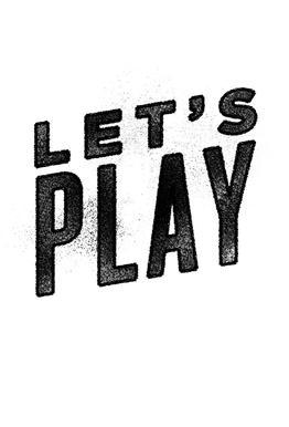 Let's Play alu dibond