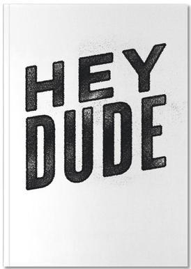 Hey Dude Notitieboekje