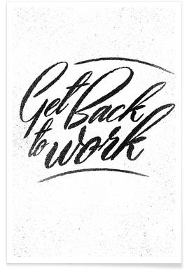 Back to Work poster