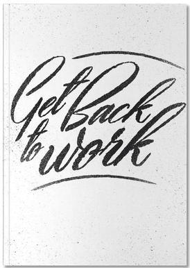 Back to Work Notitieboekje