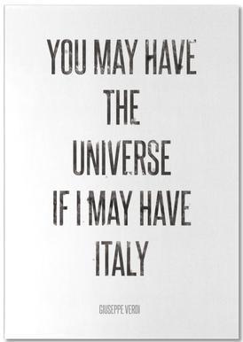 Italy notitieblok