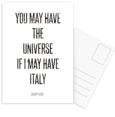 Italy ansichtkaartenset