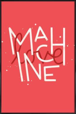 Love Machine Affiche sous cadre standard