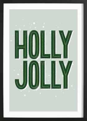 Holly Jolly Framed Print
