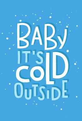 Cold Outside Acrylic Print