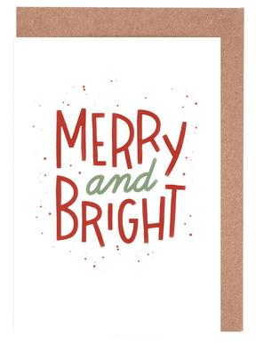 Merry And Bright Greeting Card Set