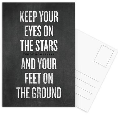 Eyes on the Stars ansichtkaartenset