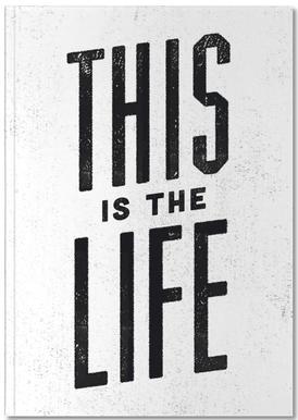This Is the Life Notitieboekje