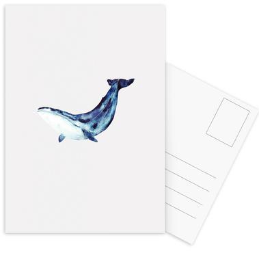 Whale II ansichtkaartenset