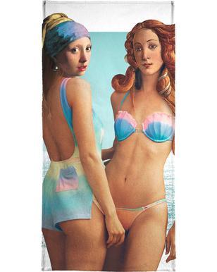 Beach Girls Serviette de bain
