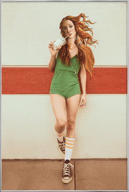 Venus Chillout affiche sous cadre en aluminium