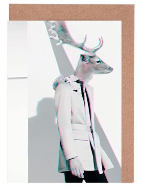 Deer cartes de vœux