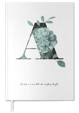 Flower Alphabet - A agenda