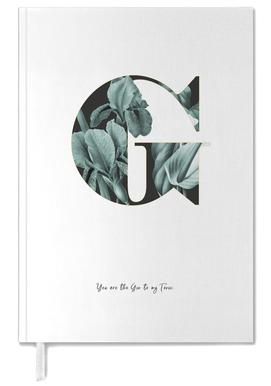 Flower Alphabet - G Personal Planner