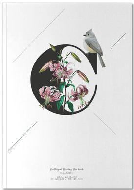 Botanical Alphabet - C Notitieboekje