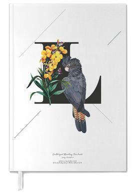 Botanical Alphabet - L Personal Planner