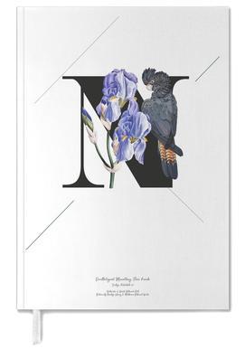 Botanical Alphabet - N agenda