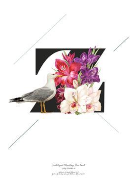 Botanical Alphabet - Z Poster   JUNIQE