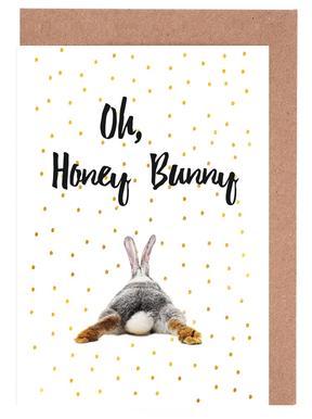 Honey Bunny Grußkartenset