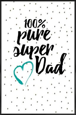 Super Dad ingelijste poster