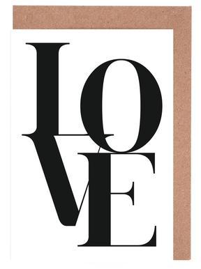 Love 2 Greeting Card Set