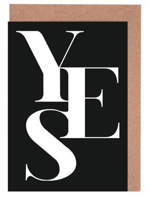 Yes 1 Greeting Card Set