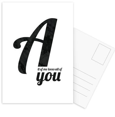 All Of Me cartes postales