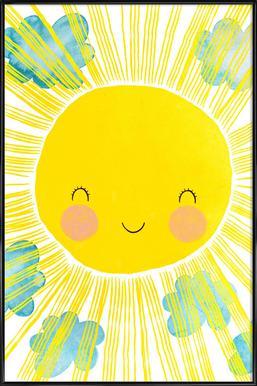Matahari Affiche sous cadre standard