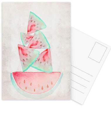 Melonen ansichtkaartenset