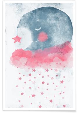 Sleeping Moon Affiche