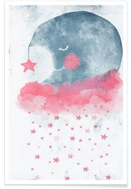 Sleeping Moon Poster